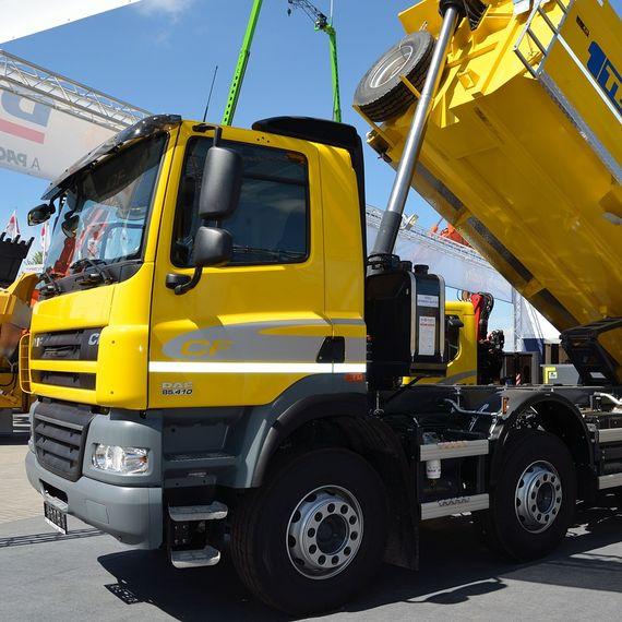 Сайт-презентация компании по продаже грузовиков и запчастей к ним